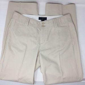 Banana Republic Stretch Khaki Trouser Pants 8P